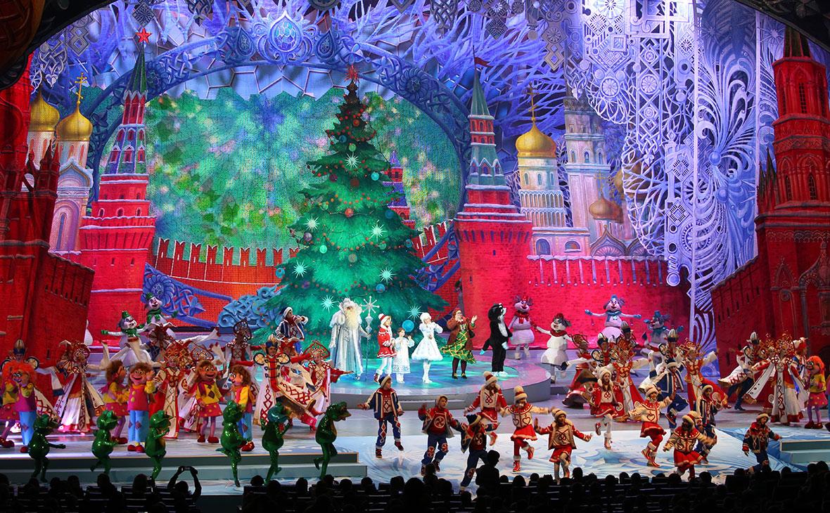 Представление на новогодней елке в Государственном Кремлевском дворце. 2016 год