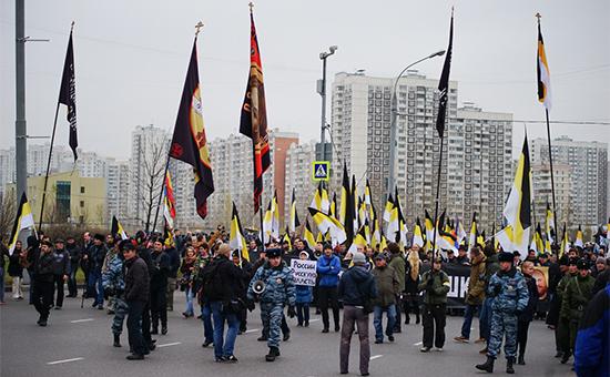«Русский марш» стал самым малочисленным из-за преследования националистов