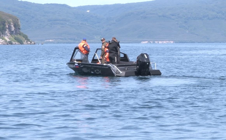 Поисковые работы в районе Курильского озера