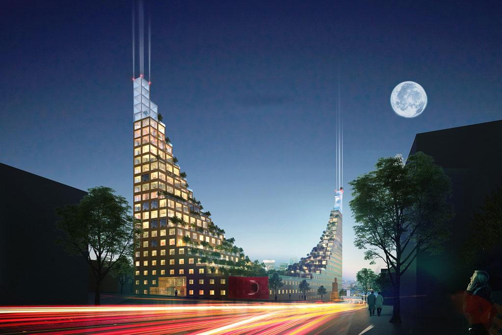 Лондонское бюро Architects of Inventions создало проект «Гарден-Хилл»