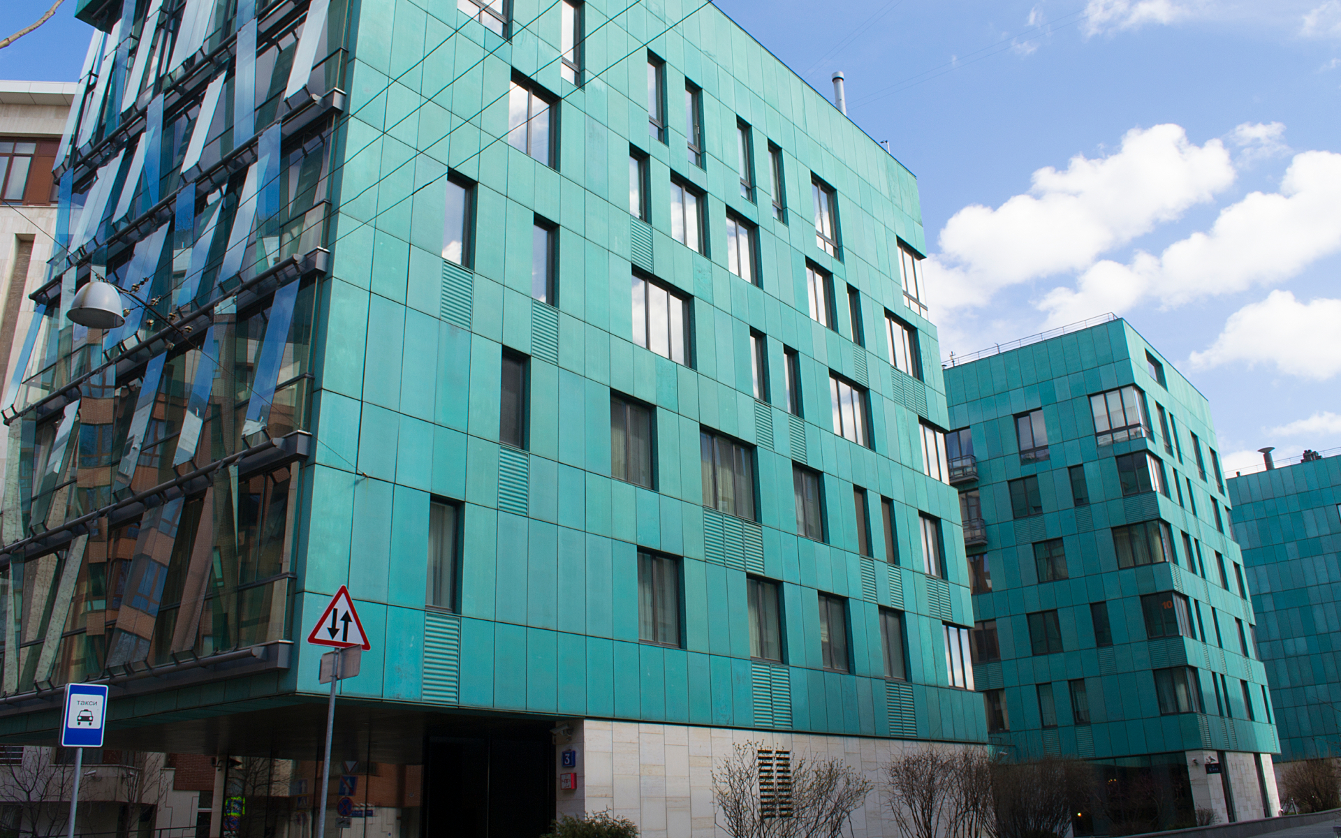 Элитный жилой комплекс в Москве