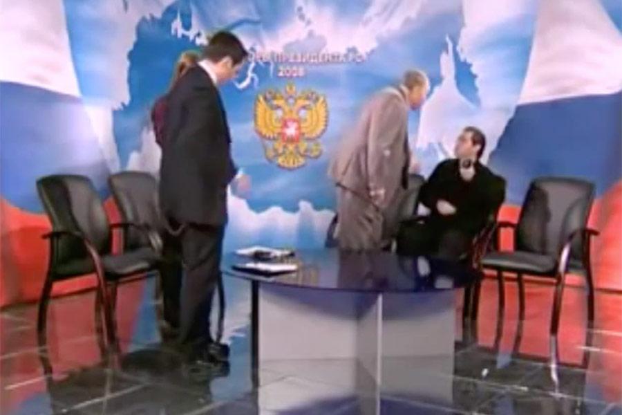 Фото:скриншот передачи телеканала ТВЦ