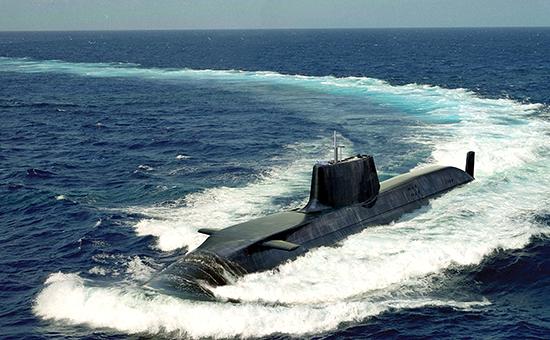 Одна из подводных лодок Королевских ВМС Британии  Архивное фото