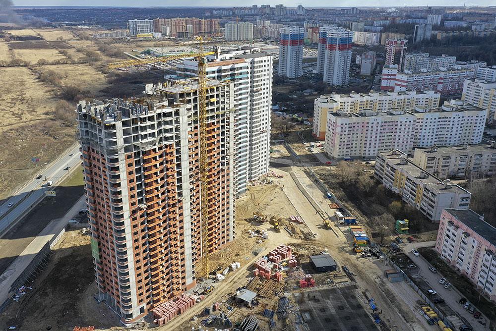 Строительство жилых домов в Рязани
