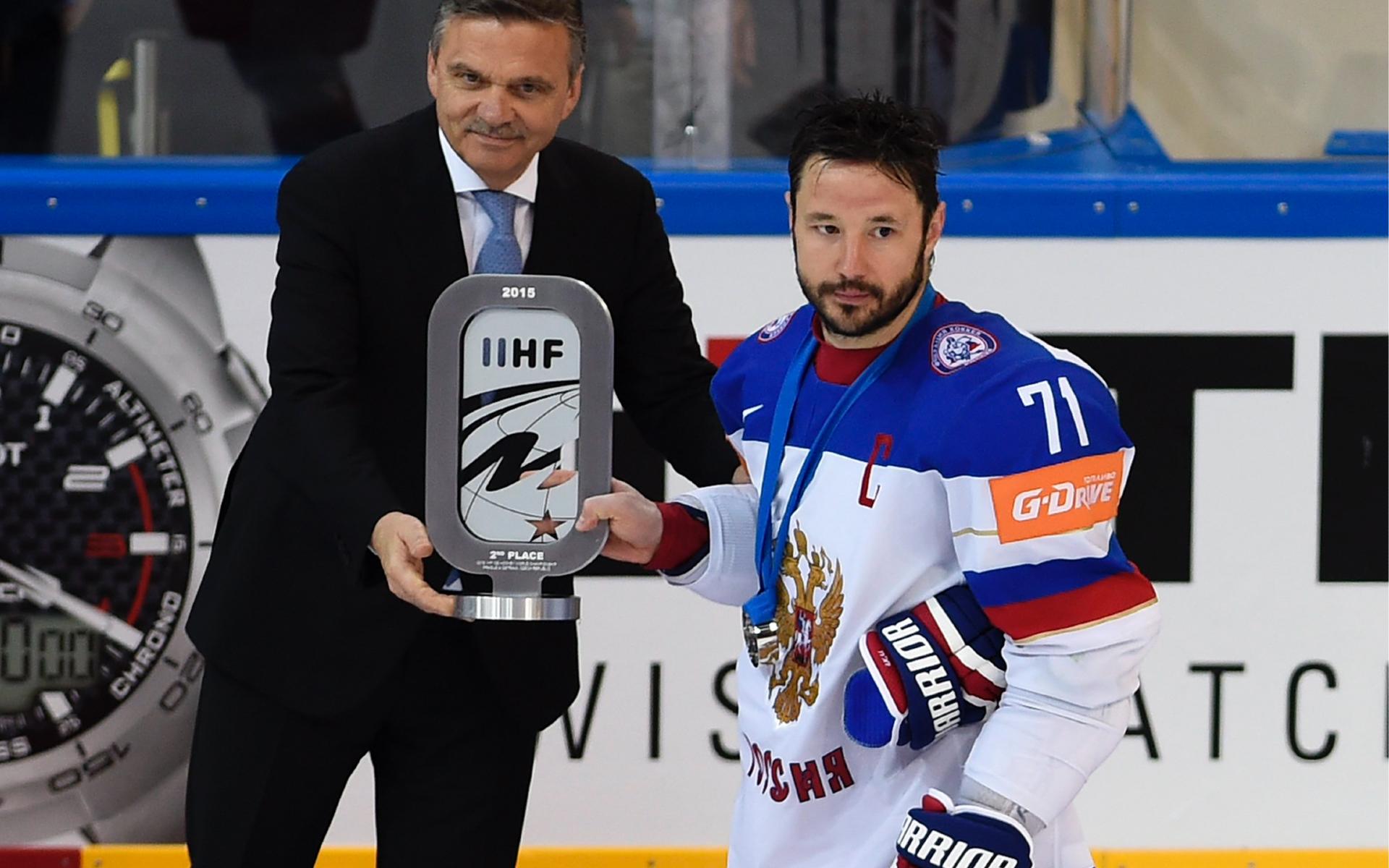 Фото: Рене Фазель и Илья Ковальчук (global look press)