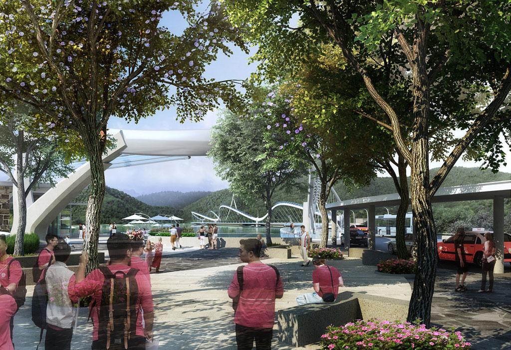 По мнению архитекторов, новый мост улучшит доступность парка Тай Там, а также привлечет больше туристов к плотине, которая является местным памятником и в следующем году будет отмечать свой 100-летний юбилей