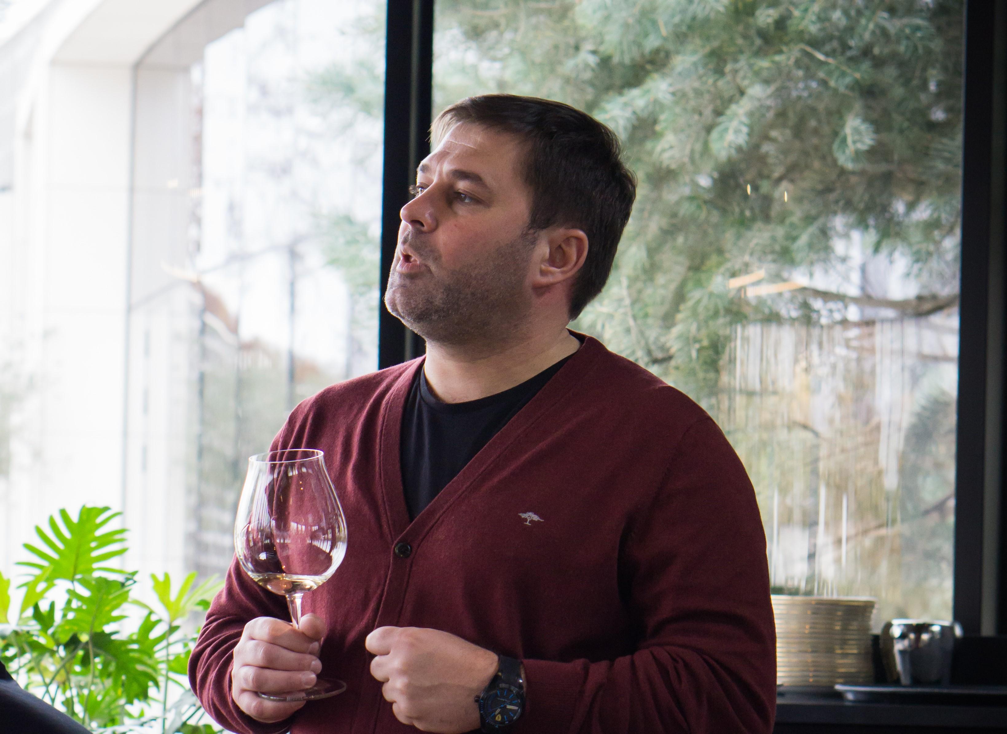 Главный винодел проекта «Галицкий&Галицкий» Алексей Толстой