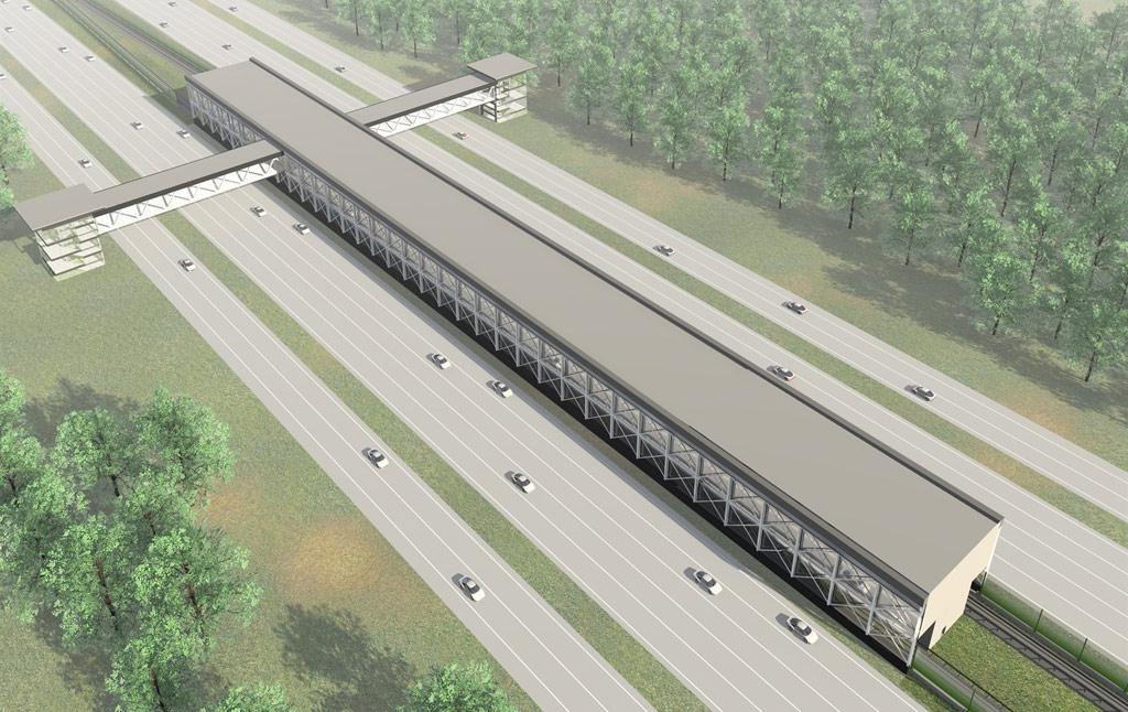 Проект станции метро «Ольховка»