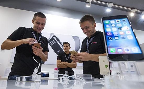 Продажа iPhone 6s иiPhone 6s Plus вМоскве