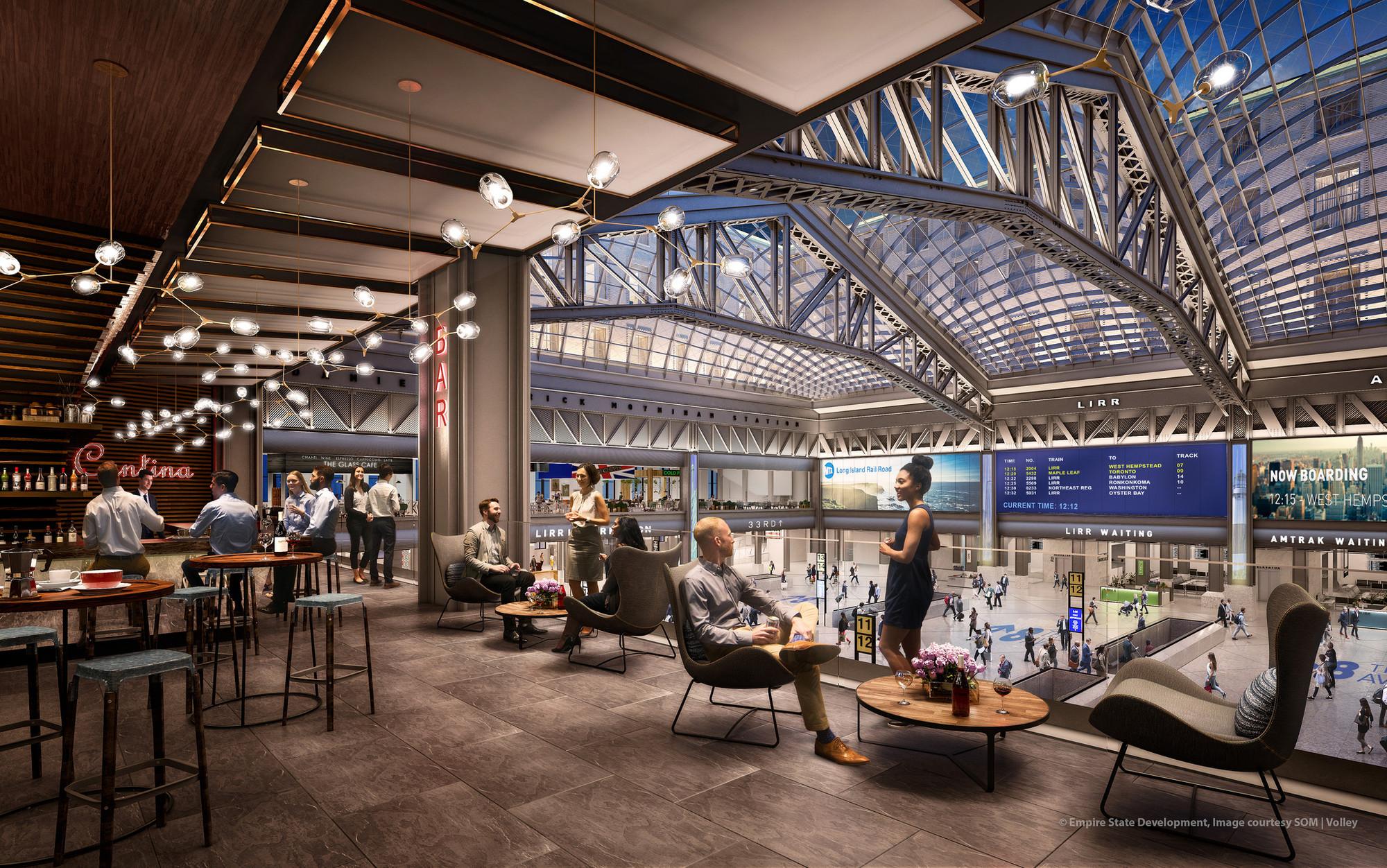 Площадь магазинов, расположенных натерритории нового вокзала, составит10,4тыс.кв.м. Площадь офисной части здания достигнет51,8тыс.кв. м