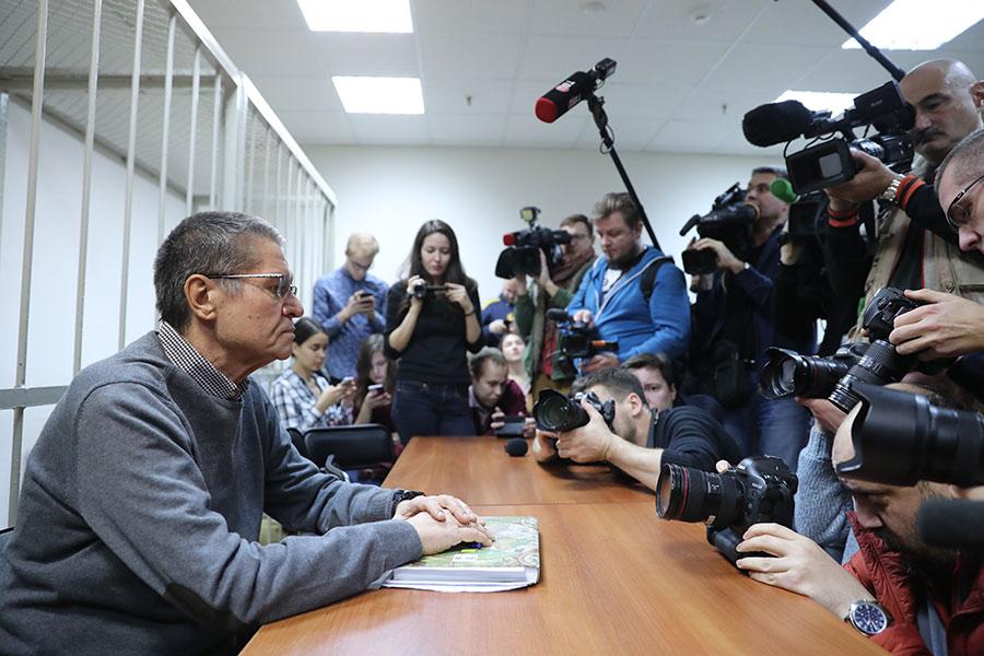 Алексей Улюкаев (слева)