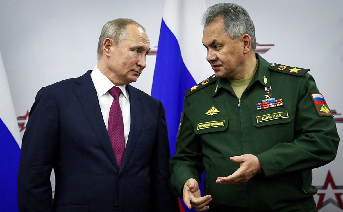 Путин создал новую военную компанию взамен Спецстроя :: Политика :: РБК