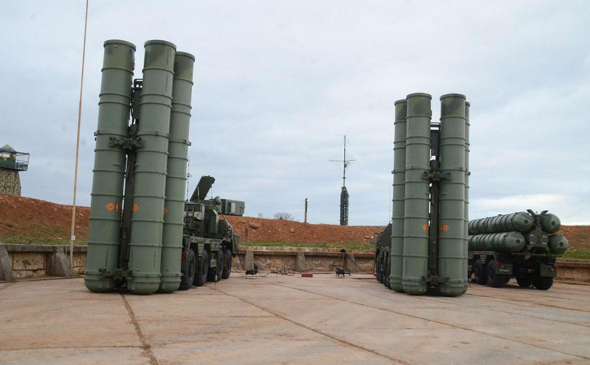 Пусковая установка зенитной ракетной системы С-400 «Триумф»