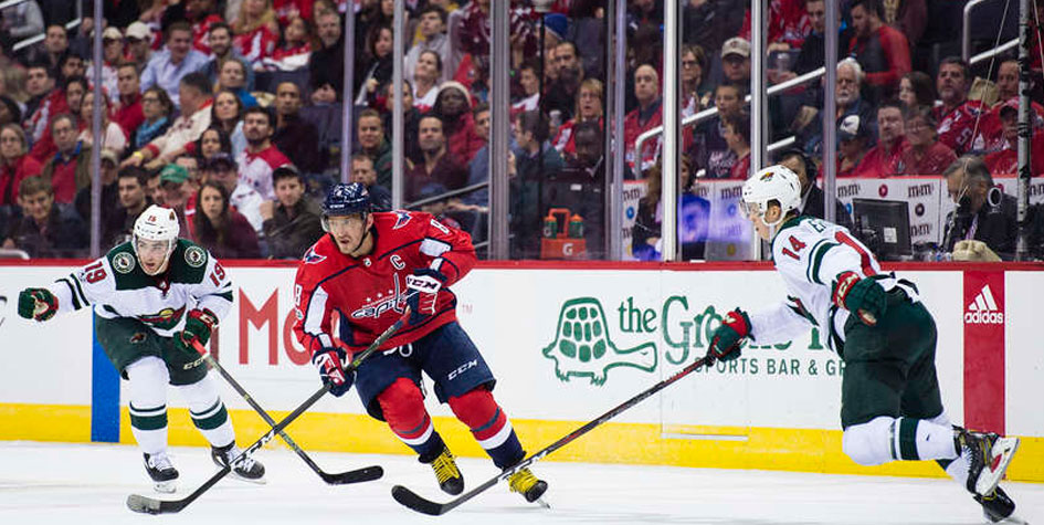 Александру Овечкину разбили лицо в матче чемпионата НХЛ