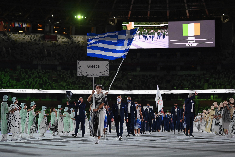 Фото: Сборная Греции  (Photo by Matthias Hangst/Getty Images)