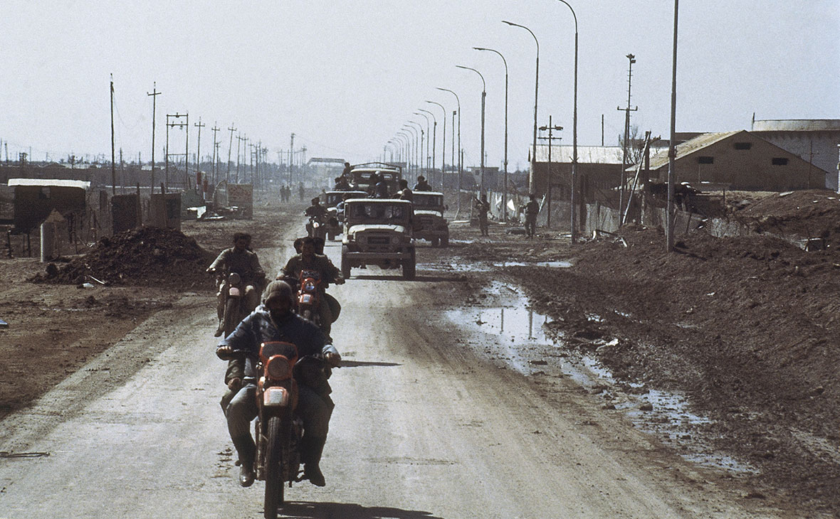 Иранские солдаты в Ираке. 1986 год