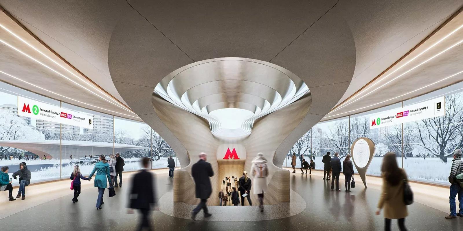 Фото:Zaha Hadid Architects via mos.ru