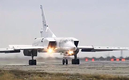 Бомбардировщики Ту-22М3 ВКС России