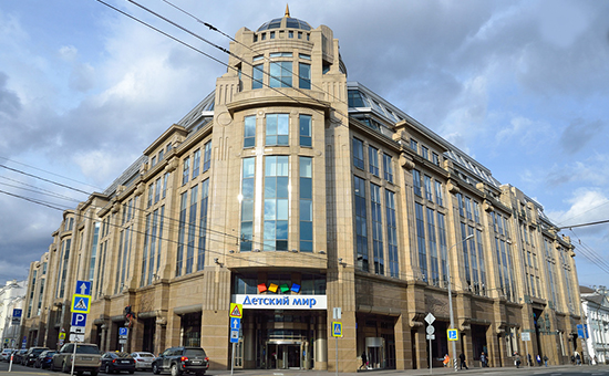 Вид наздание Военторга наВоздвиженке вМоскве