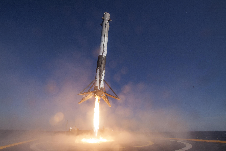 Посадка ракеты Falcon 9