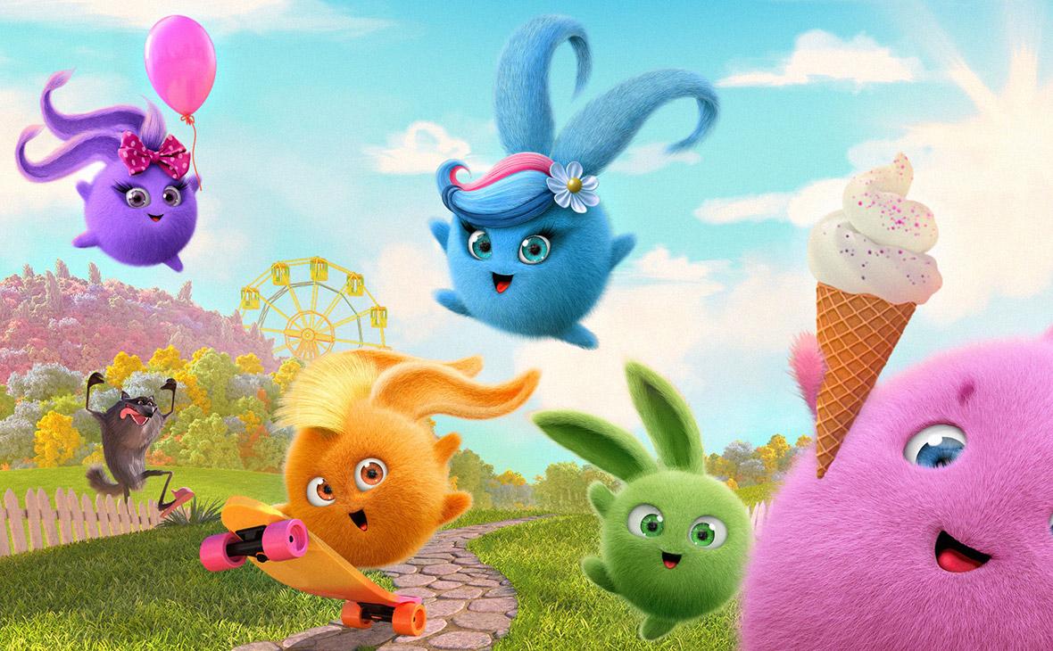 Кадр из мультфильма «Солнечные Зайчики»