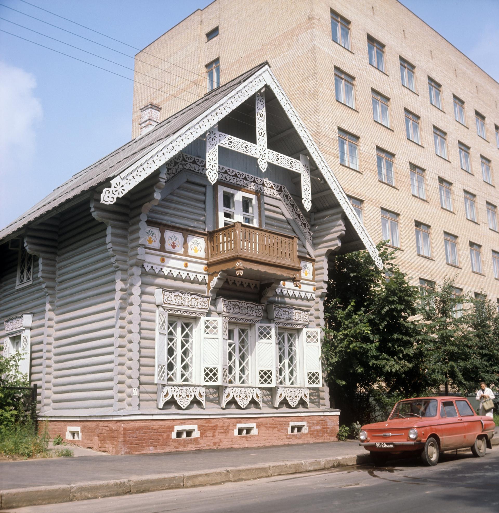 «Погодинская изба» в Москве, 1976 год
