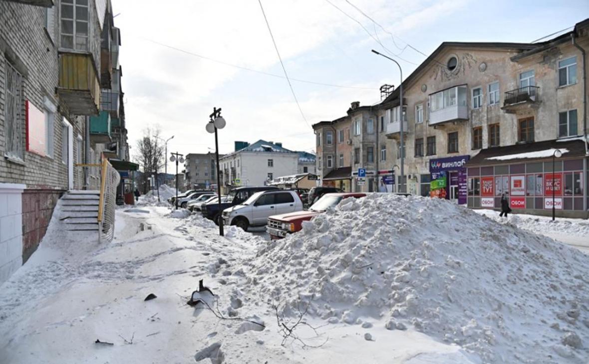 В нескольких районах Хабаровского края из-за непогоды ввели режим ЧС