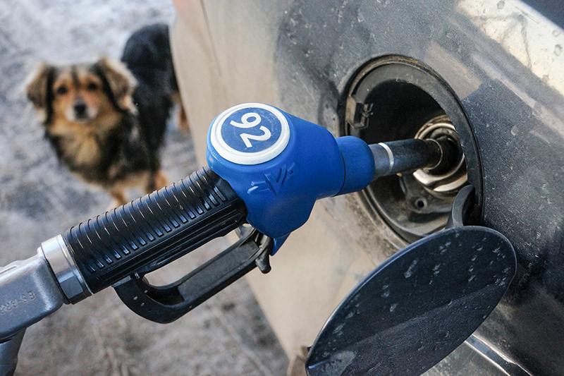 Бензин А-92    Изменение цены: 0%    Цена на бензин на внутреннем рынке в большей степени зависит не от курса рубля, а от стоимости нефти, величины акцизов и наличия свободных нефтеперерабатывающих мощностей, поясняет директор по развитию бизнеса агентства «Аналитика товарных рынков» Михаил Турукалов.Во время ремонта крупных НПЗ как правило происходят кратковременные скачки оптовых и розничных цен. Ослабление рубля при одновременном падении цен на нефть не должно привести к подорожанию бензина на внутреннем рынке, убежден аналитик исследовательской компании нефтяного рынка «Кортес» Александр Шкурин. В конце 2008 года мировые цены на нефть упали втрое, а рубль с июля 2008 года по март 2009 года подешевел по отношению к доллару более чем на 50%, напоминает он: «Цены на бензин в России при этом тоже снизились, но не так существенно, как цены на нефть». К примеру, в июне 2008 года, по его данным, литр бензина марки АИ-92 стоил 23,31 рублей, в декабре 2008 года он подешевел до 20,72 рублей, а к маю 2009 года снизилсядо 18 рублей.