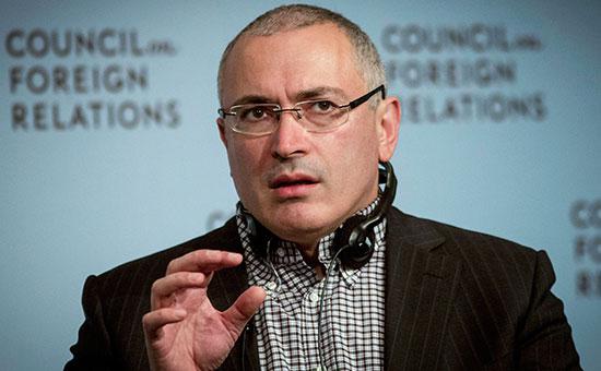 Бывший владелец ЮКОСа Михаил Ходорковский