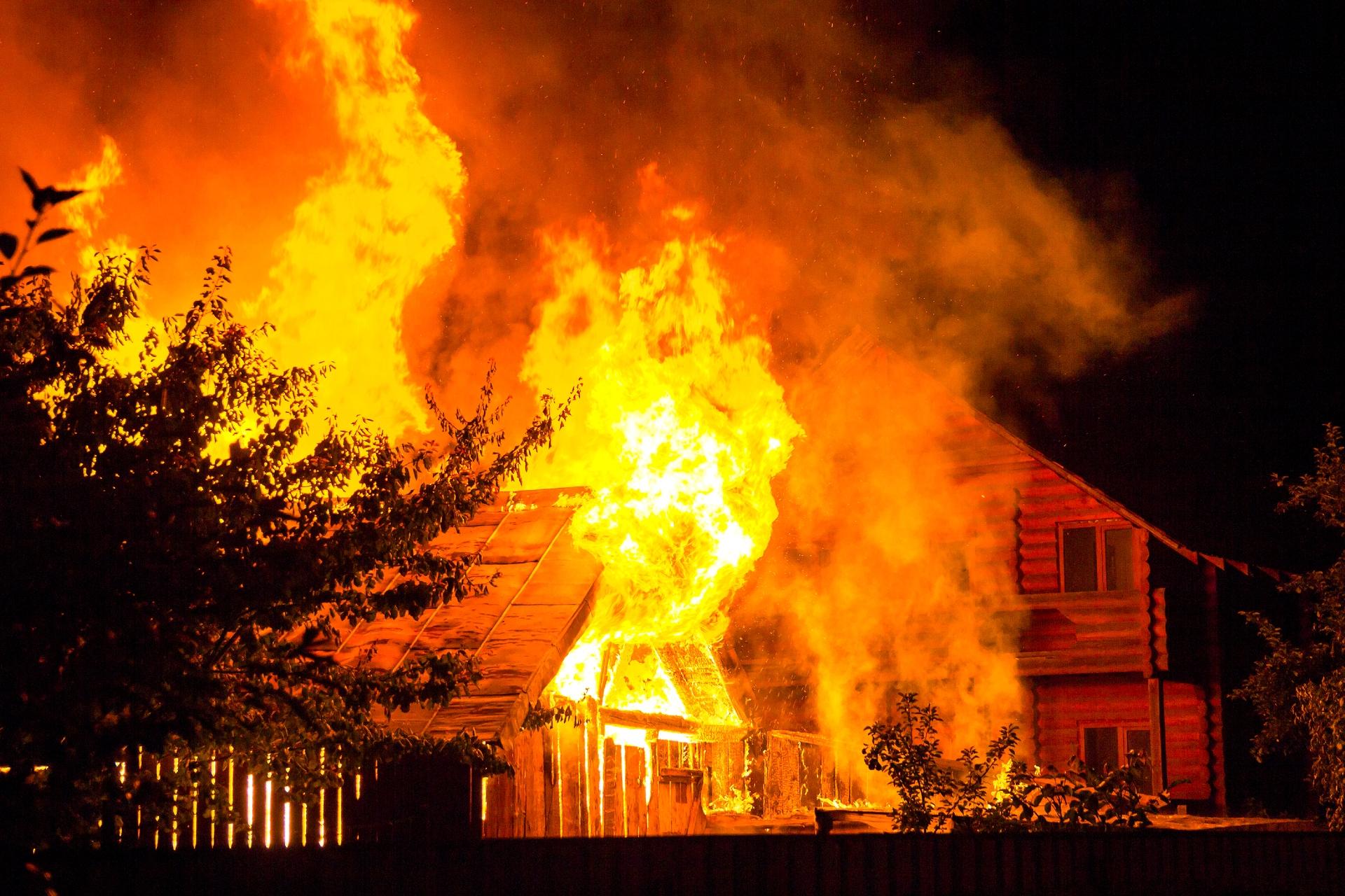 Пожар— один из самых распространенных страховых случаев