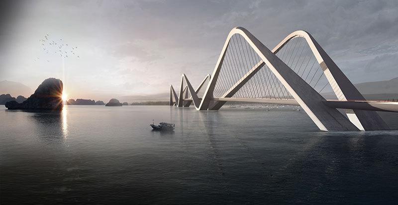 Номинация «Мосты иинфраструктура»   Название: мост Ту Льен Место: Ханой Архитекторы: WATG Urban