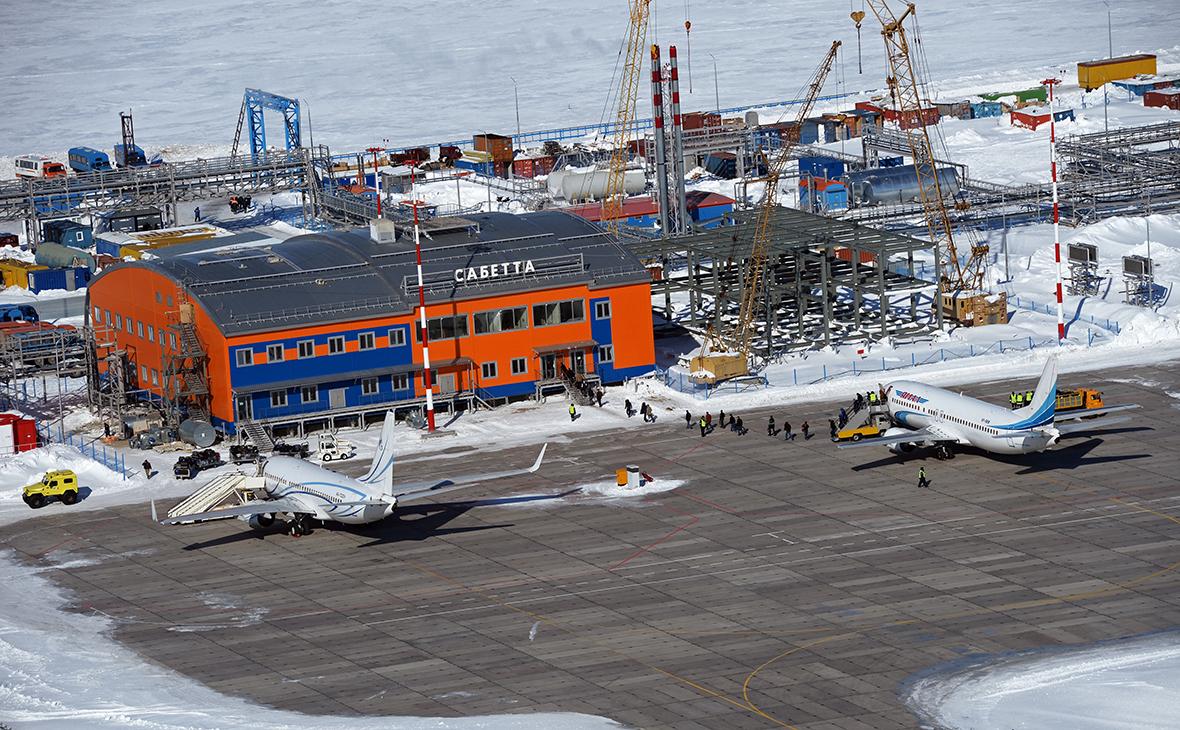 Международный аэропорт Сабетта