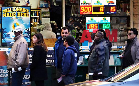 В США впервые разыграют в лотерее больше $1 млрд