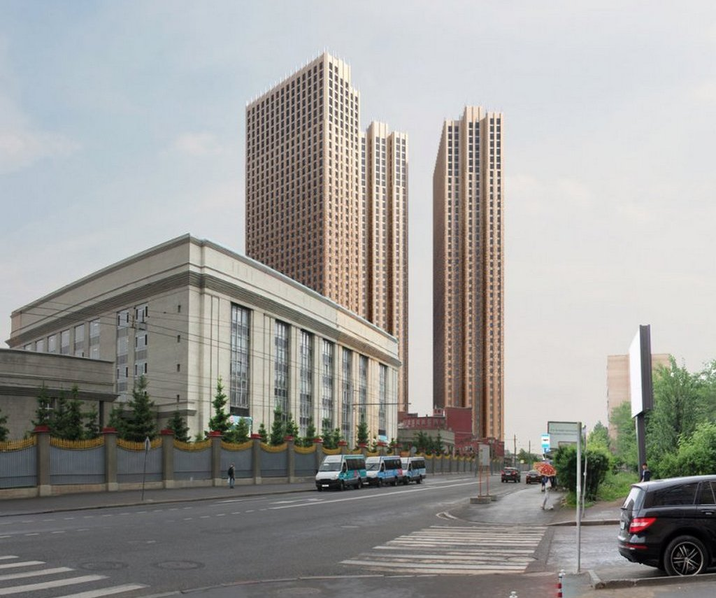 Проект многофункционального комплекса «Пресня-Сити»