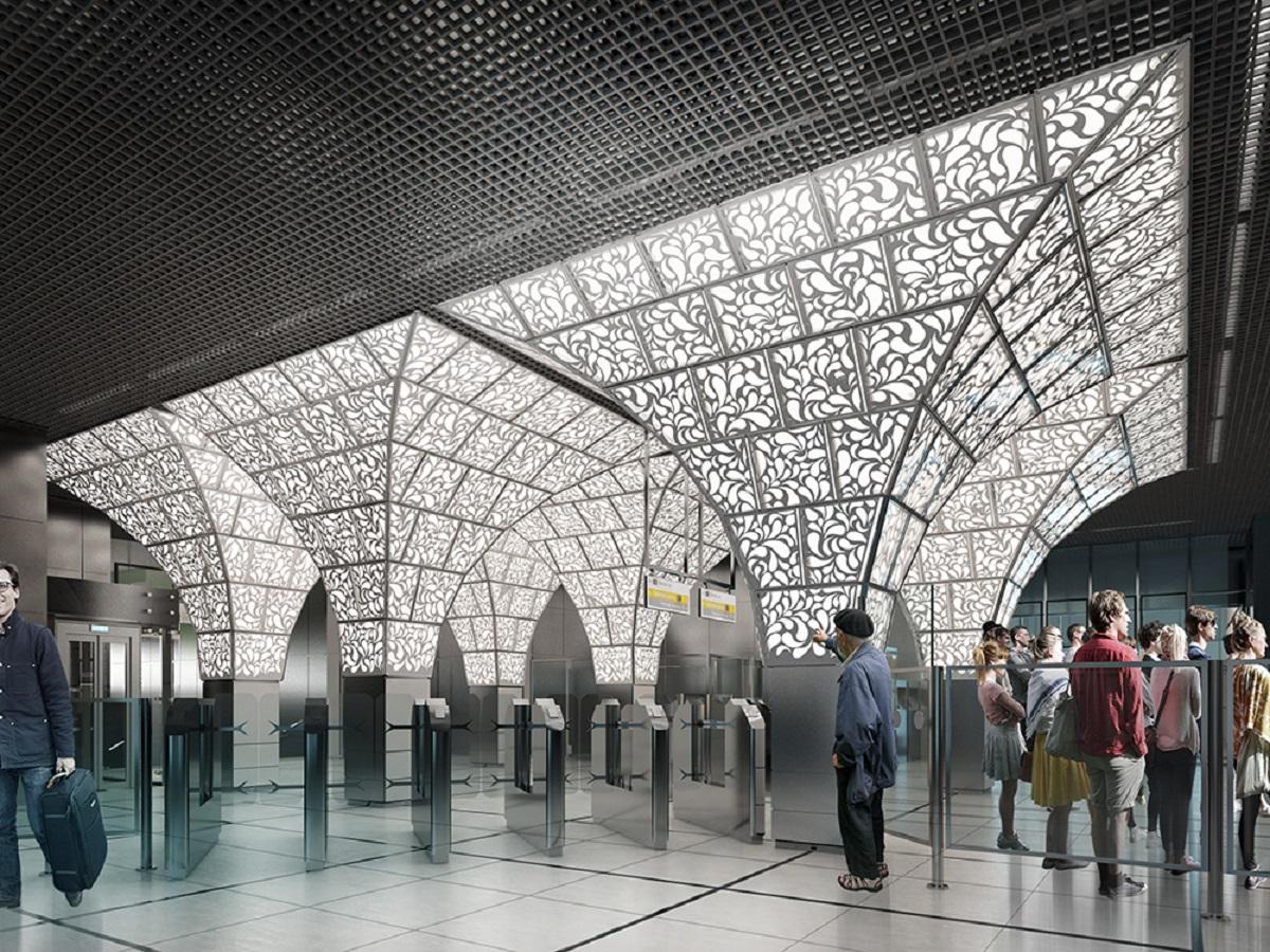 Станция «Новопеределкино»