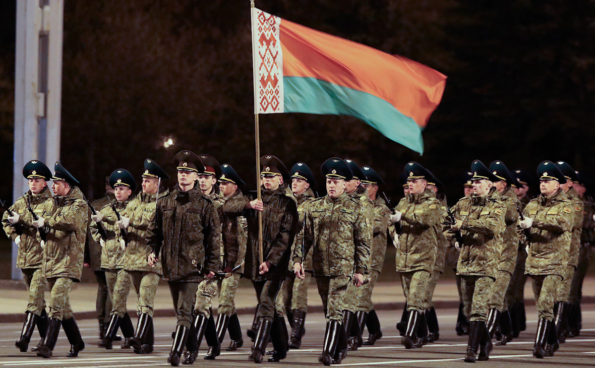 Репетиция парада в честь 75-летия Победы в Великой Отечественной войне, Минск