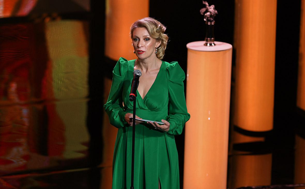 Мария Захарова на церемонии открытия Московского международного кинофестиваля. 22 июня 2017 года