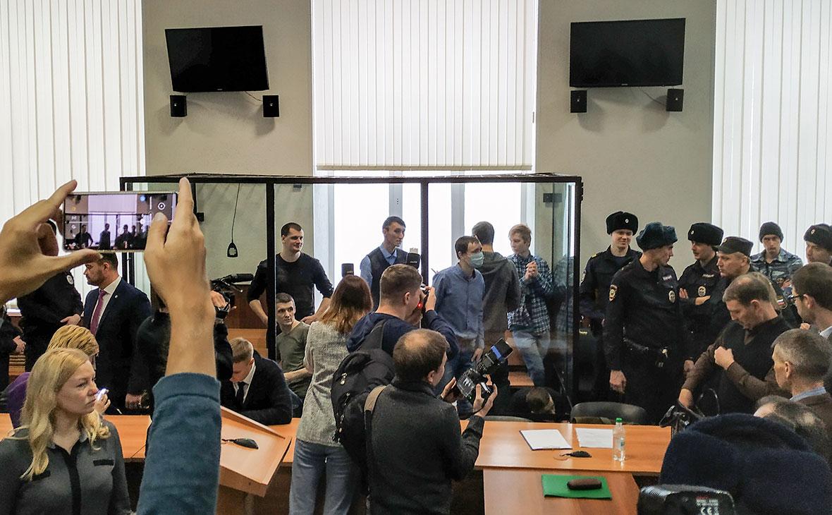 Оглашение приговора по делу террористического сообщества «Сеть» в Пензе