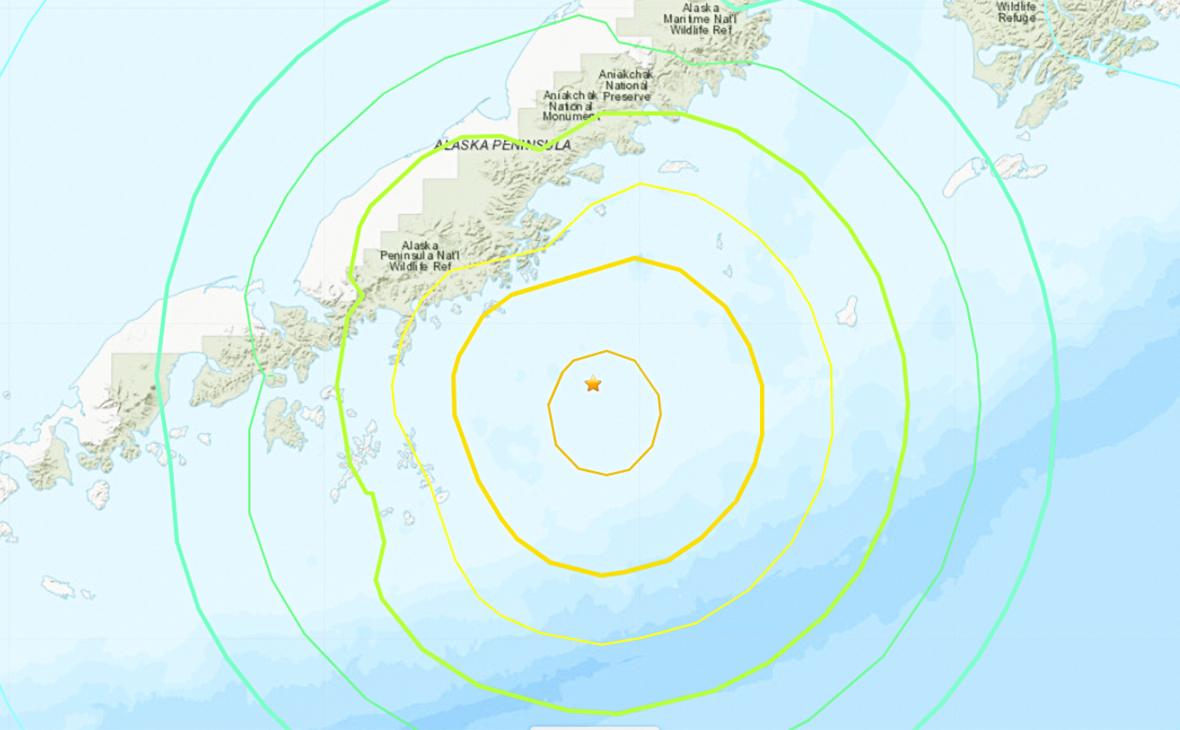 Фото:earthquake.usgs.gov