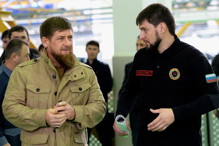 Рамзан Кадыров иДаниил Мартынов