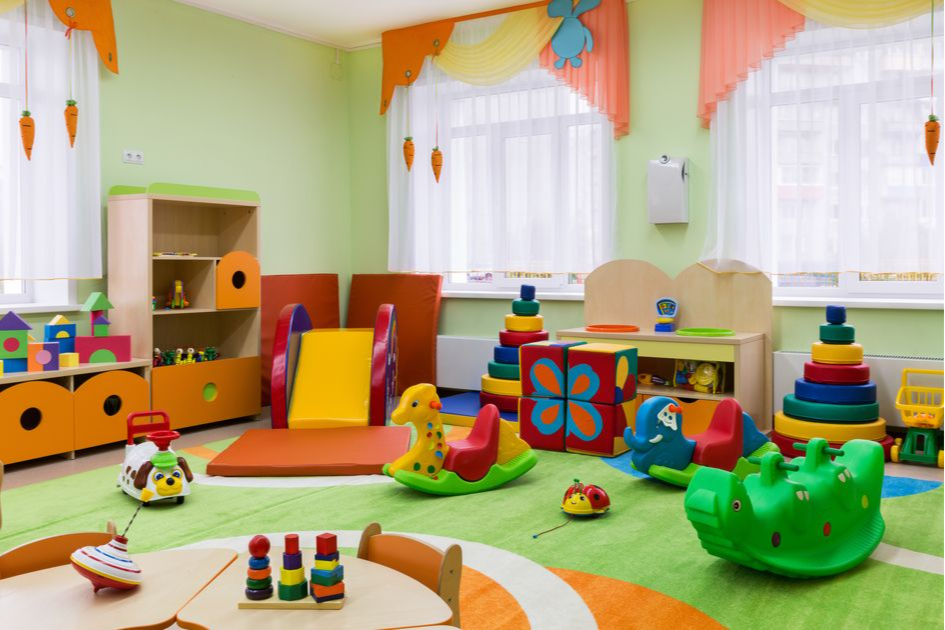 Выбирайте одну цветовую гамму в отделке детской комнаты