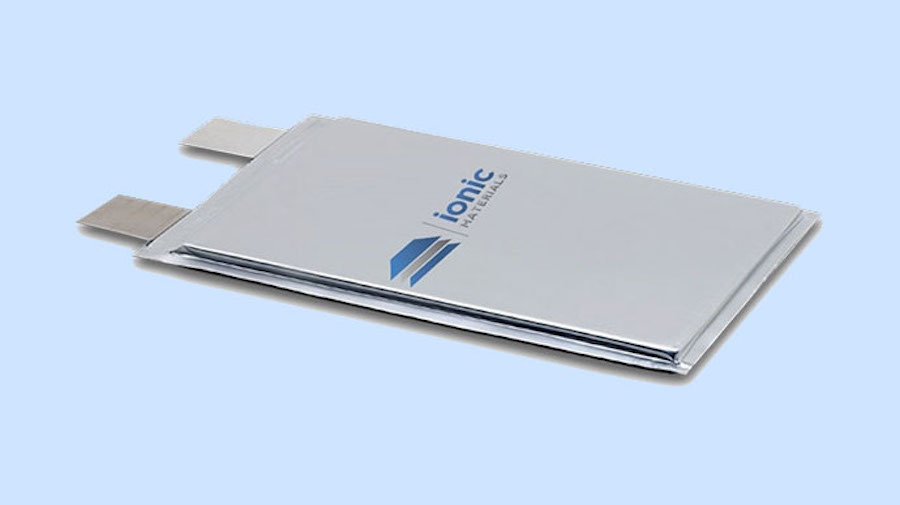 Аккумулятор Ionic Materials