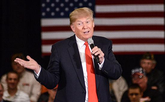 Республиканский кандидат в президенты США Дональд Трамп