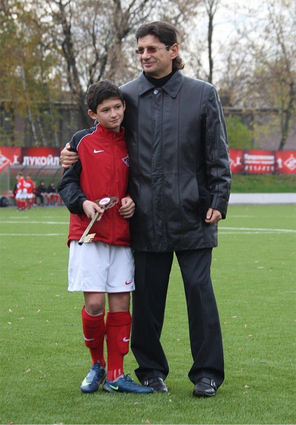 Аяз Гулиев и Леонид Федун