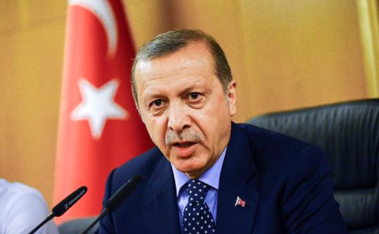 Эрдоган выступил с заявлением после попытки военного переворота