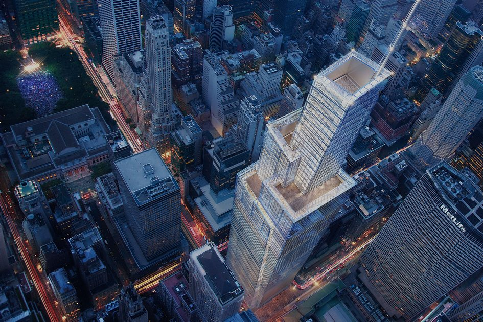 Строительные работы наплощадке One Vanderbilt начались вавгусте 2016 года, сообщает New York Yimby: сейчас наместе будущего супернебоскребавырыт котлован. Возведение надземных этажей One Vanderbilt начнется во втором квартале 2017 года
