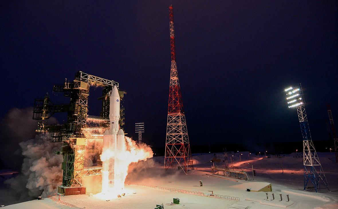 Запуск ракеты-носителя «Ангара-А5». 23 декабря 2014 года