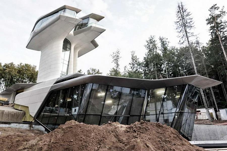 Строительство виллы Capital Hill Residence в подмосковной Барвихе
