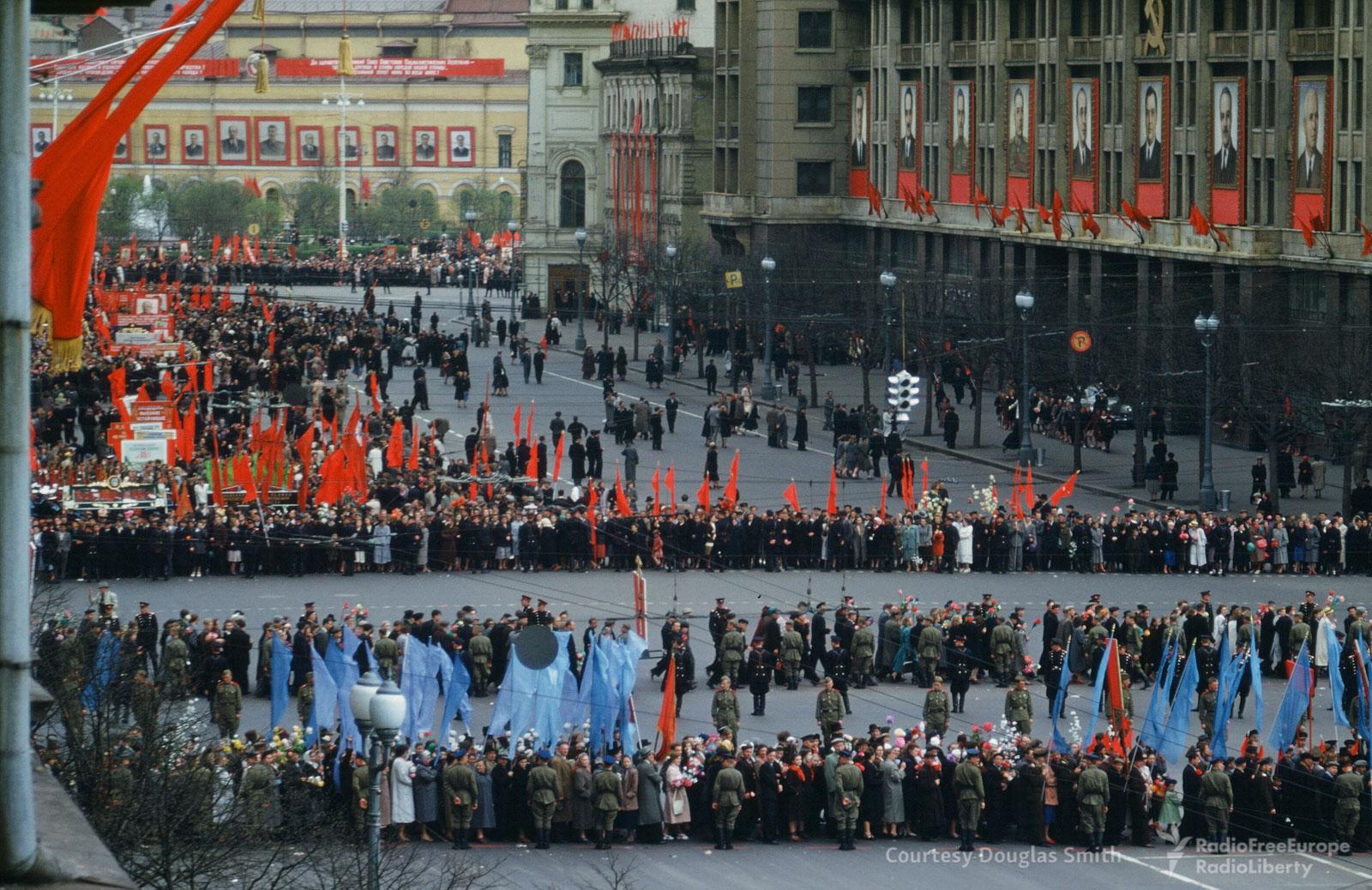 Парад наМанежной площади