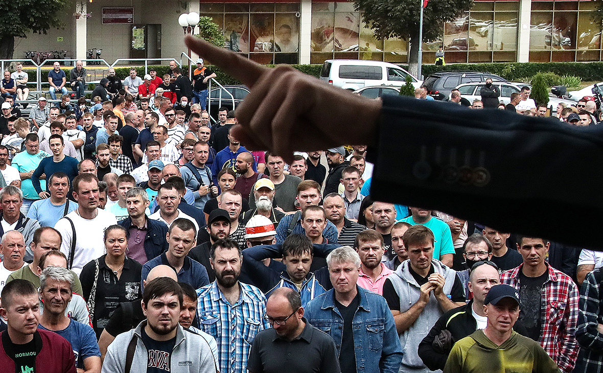 Забастовка работников «Беларуськалия»